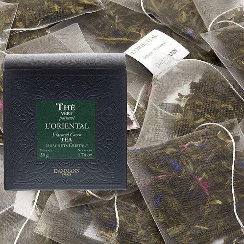 Thé vert L'Oriental boîte 25 sachets