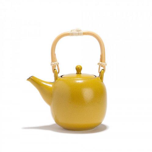 Théière en porcelaine -Kiiro 0,55L- jaune