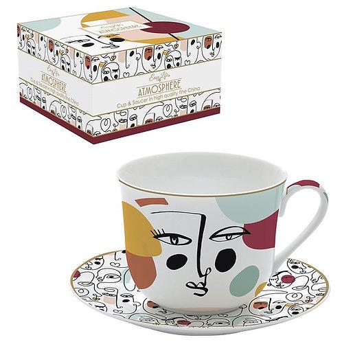 Modernism déjeuner en porcelaine