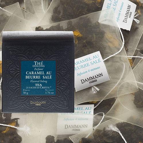 Thé Oolong Caramel au beurre salé boîte 25 sachets