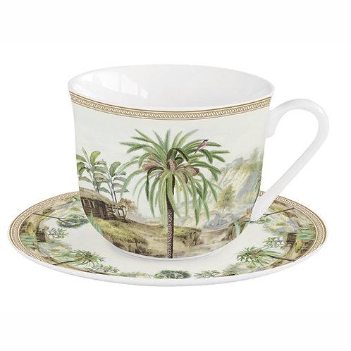 Ceylon déjeuner en porcelaine