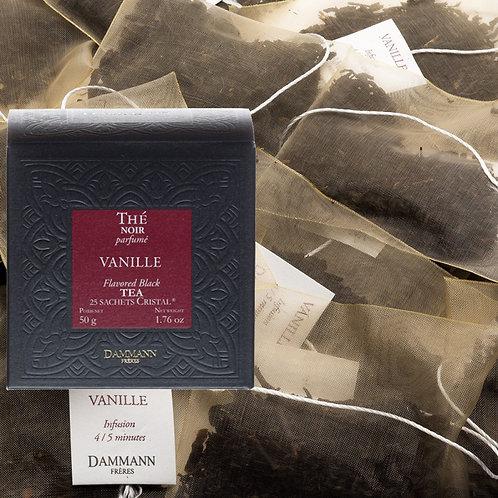 Thé noir Vanille boîte 25 sachets