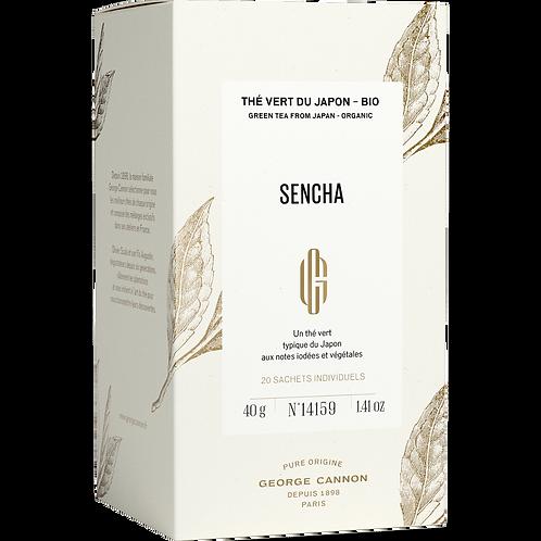 Sencha du Japon Bio Boîte 20 sachets