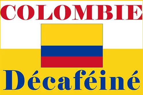 café décaféiné de colombie