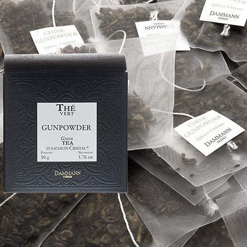 Thé vert Gunpowder boîte 25 sachets