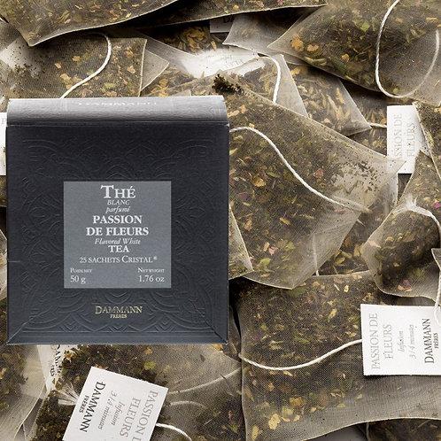 Thé blanc Passion de Fleurs boîte 25 sachets