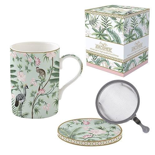 Wild Tropical tisanière porcelaine