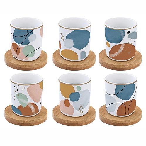 Shapes -  set 6 tasses à café