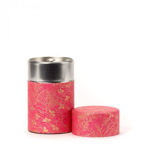 Shoji boîte à thé papier washi rose 100g