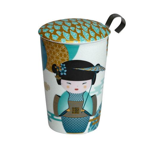Tisanière Teaeve - New Little Geisha Petrol- 0,35L