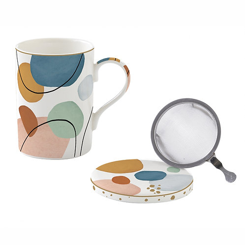 Shapes tisanière porcelaine
