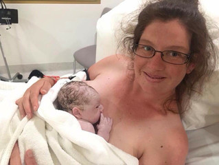 Courtney's Hypnobirth - Lakyn's birth story