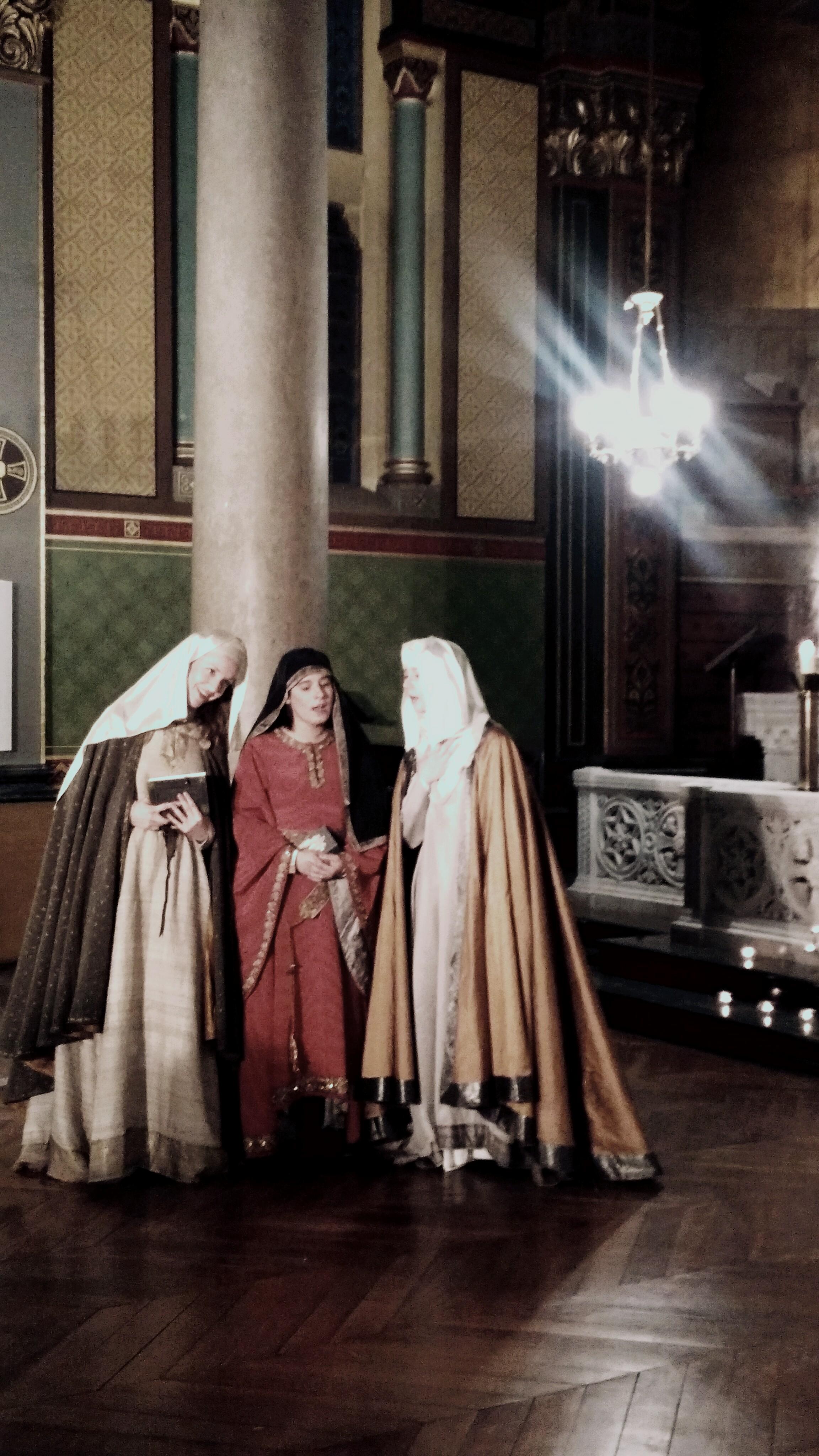 Les Trois Marie au Tombeau - Rosace