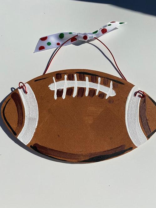 Football Ornament - no color