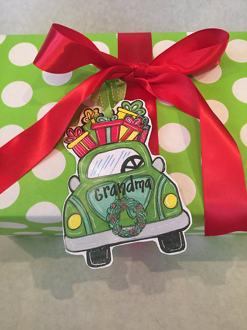 Car ornament/Package Tag