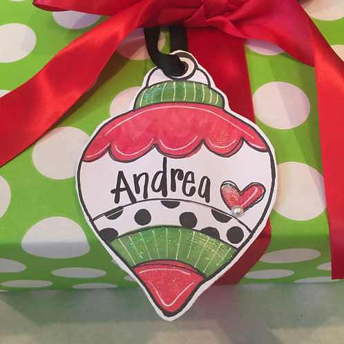 Ornament Paper ornament/Package Tag
