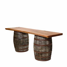 Rustic Barrels with Oak Slab.jpg