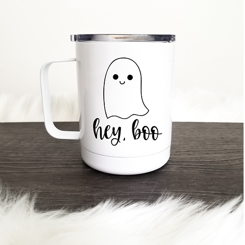 Hey boo travel mug