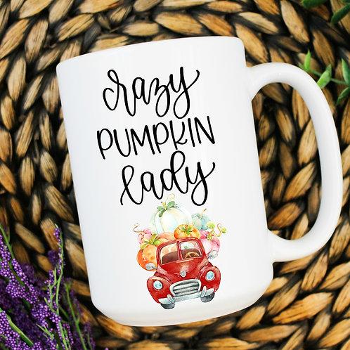 Crazy pumpkin lady