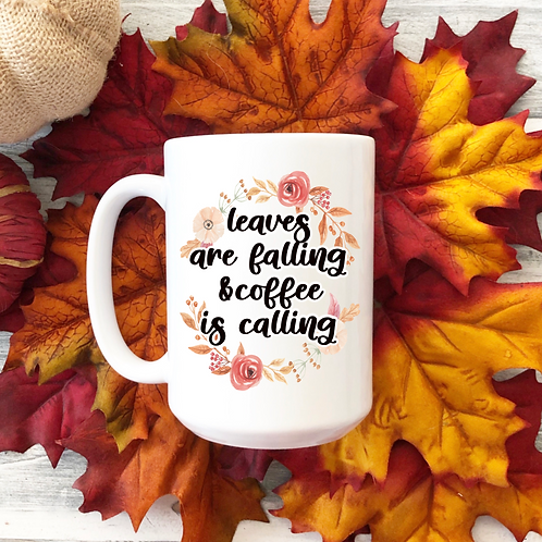 Leaves are falling & coffee is calling