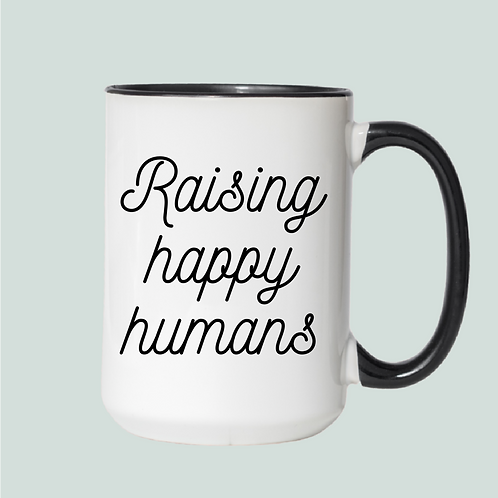 Raising happy humans