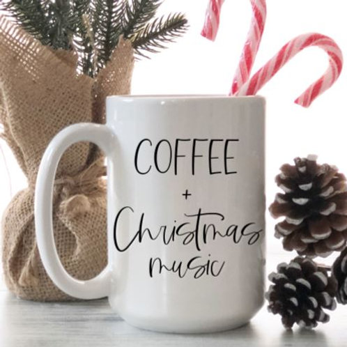Coffee + Christmas music