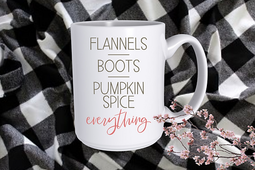 Flannels, boots, pumpkin spice everything