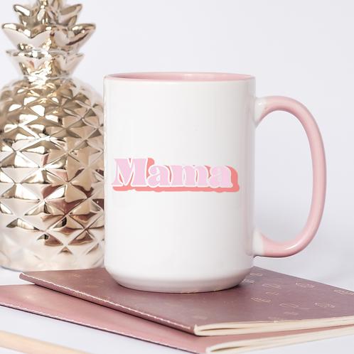Pink retro Mama