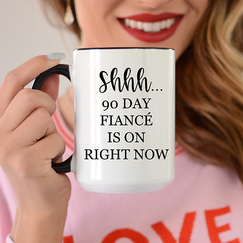 Shhh...90 fiance is on