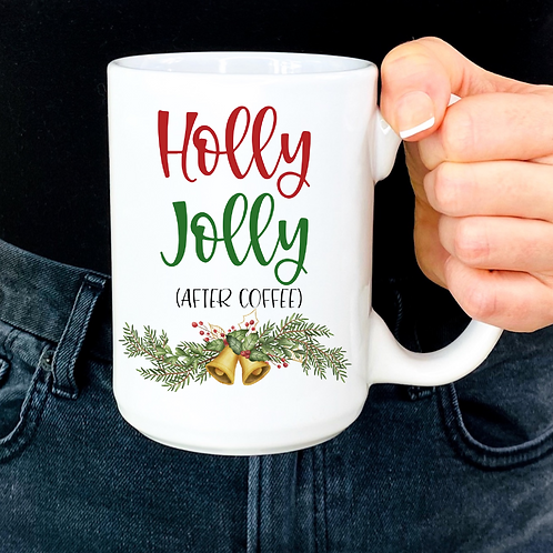 Holly jolly after coffee