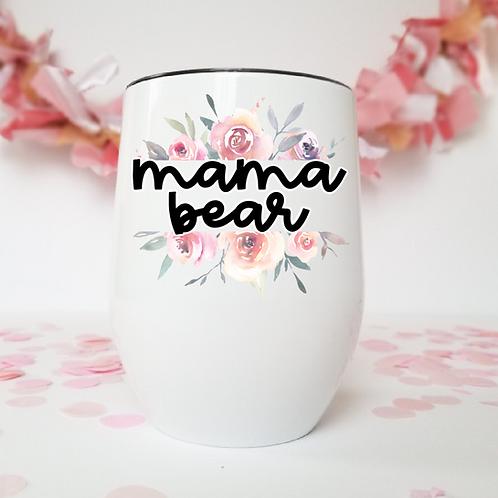 Mama bear wine tumbler