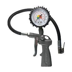calibrador com mangueira e manometro
