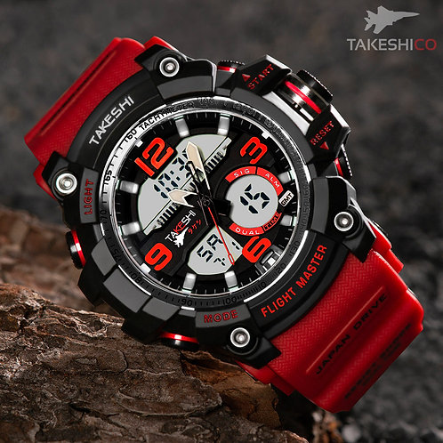 TAKESHI TK06R SPORT CHRONOMETER WATCH