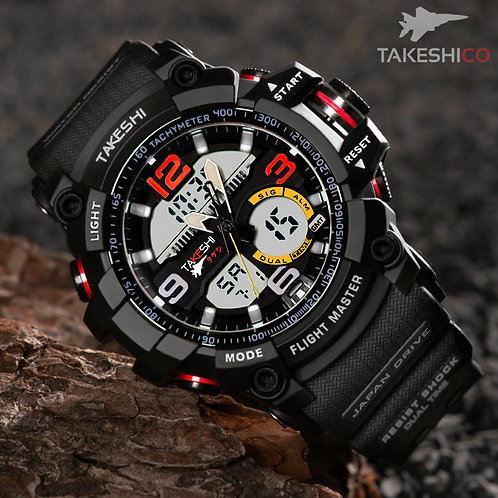 TAKESHI TK06BL SPORT CHRONOMETER WATCH