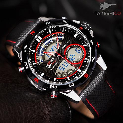 TAKESHI MOTOR SPORT TK05R CHRONOMETER WATCH