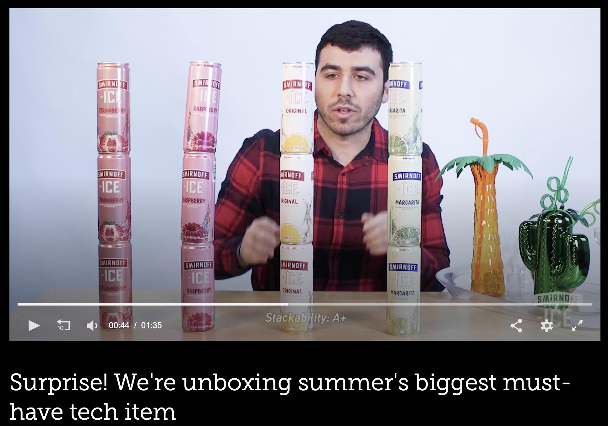 Smirnoff x Mashable