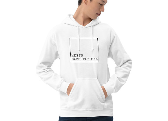 Meets Expectations Unisex Hoodie