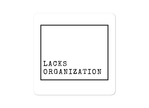 Lacks Organization stickers