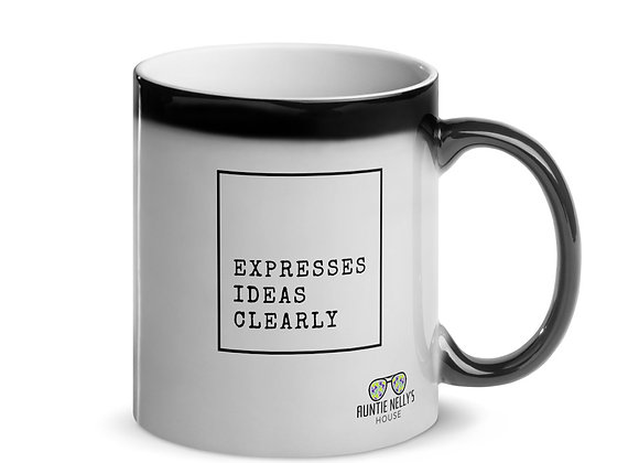 Expresses Ideas Clearly Mug