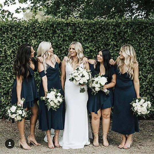 Our bride Sam and her girls looking migh
