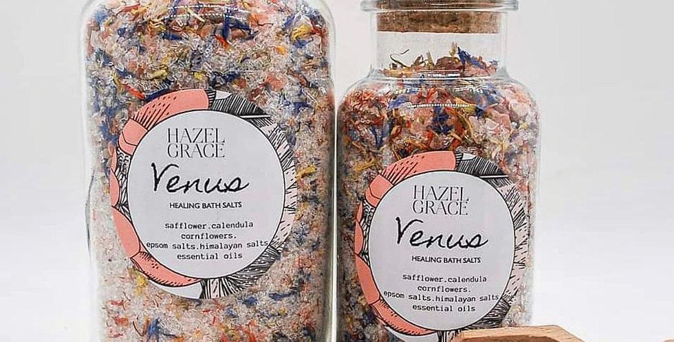 Hazel and Grace- bath salt jars (small)