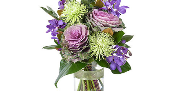 Skittle Bouquet in Vase