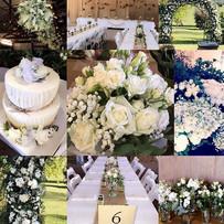 A beautiful country wedding on a stunnin