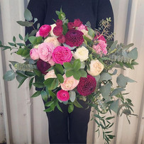 Today's beautiful bridal bouquet for mis