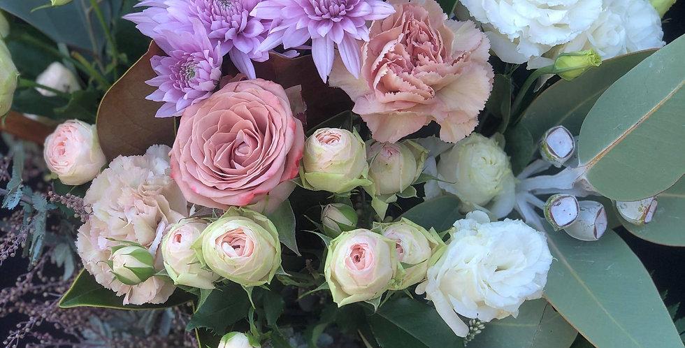 Sarah- Pink Vase Arrangement