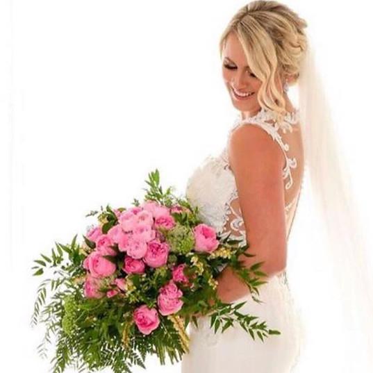Melinna's bouquet 💗💗💗Such a beautiful