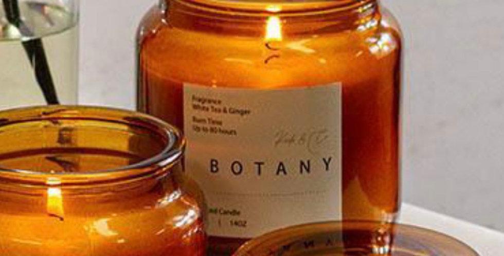 Large botany candle