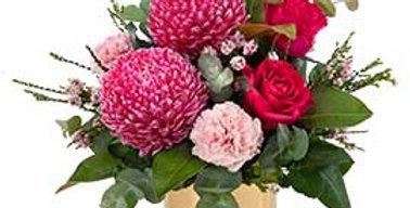 hey Mumma- Keep Sake rose gold vase