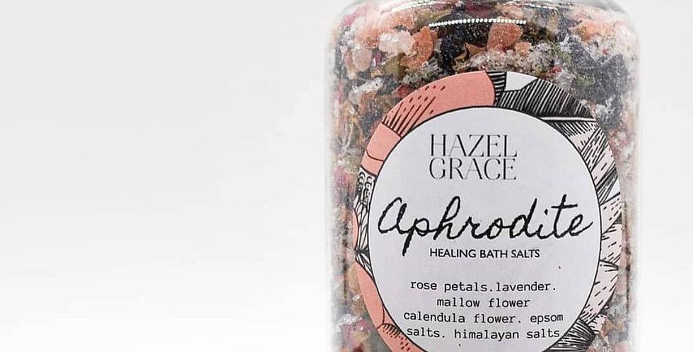 Hazel and Grace large bath salt