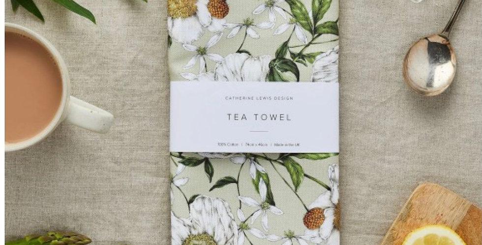 Catherine Lewis design 100% cotton tea towel